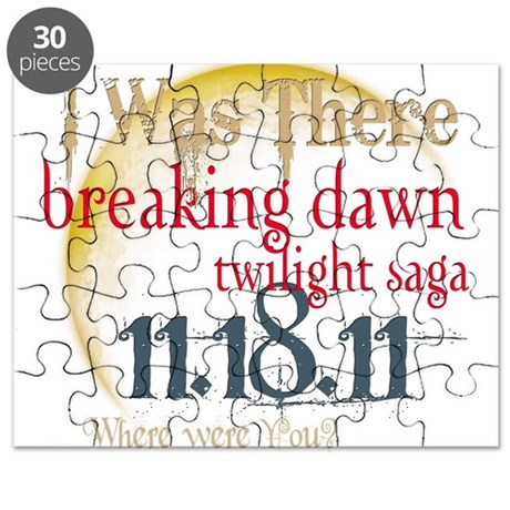 Breaking Dawn I Was There Puzzle