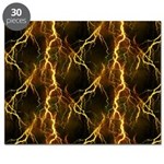 Gold Lightning Jigsaw Puzzle