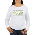 Occupy Calcutta Women's Long Sleeve T-Shirt