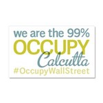 Occupy Calcutta Car Magnet 20 x 12