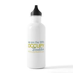 Occupy Boulder Water Bottle