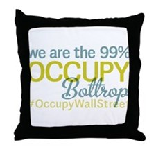 Occupy Bottrop Throw Pillow