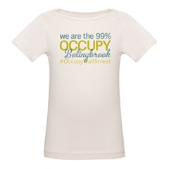 Occupy Bolingbrook Organic Baby T-Shirt