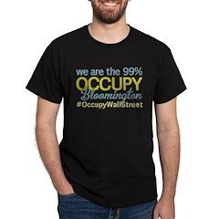 Occupy Bloomington Dark T-Shirt