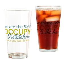 Occupy Bethlehem Drinking Glass