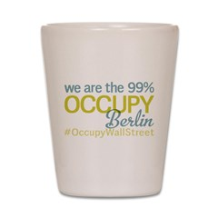 Occupy Berlin Shot Glass