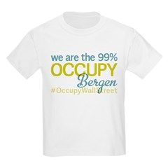 Occupy Bergen Kids Light T-Shirt