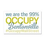 Occupy Bentonville Car Magnet 20 x 12