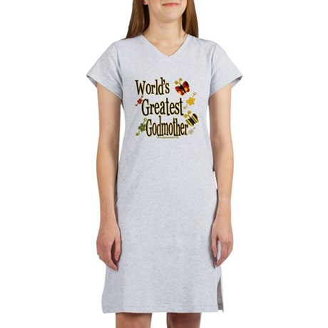 Godmother Butterflies Women's Nightshirt