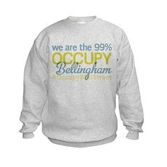 Occupy Bellingham Kids Sweatshirt