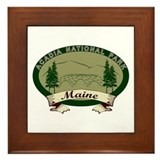 Acadia National Park Framed Tile