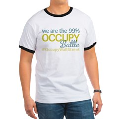 Occupy Battle Ground Ringer T