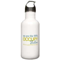 Occupy Baton Rouge Water Bottle