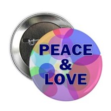 peace love... Button