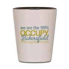 Occupy Bakersfield Shot Glass