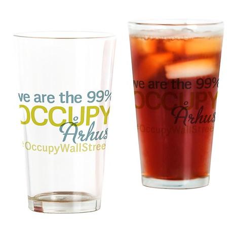 Occupy ?rhus Drinking Glass