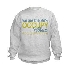 Occupy Athens Kids Sweatshirt