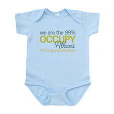 Occupy Athens Infant Bodysuit