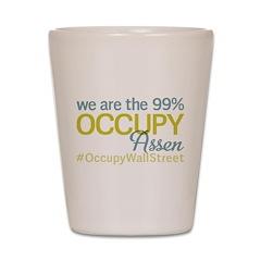 Occupy Assen Shot Glass