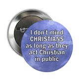 don't mind christians... Button