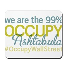 Occupy Ashtabula Mousepad