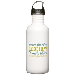 Occupy Amsterdam Water Bottle