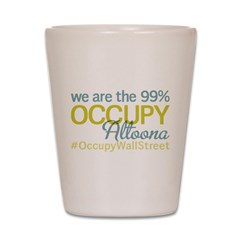 Occupy Altoona Shot Glass