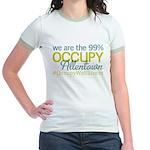 Occupy Allentown Jr. Ringer T-Shirt