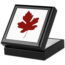 Maple Leaf Keepsake Box