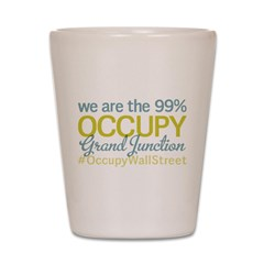 Occupy Grand Junction Shot Glass