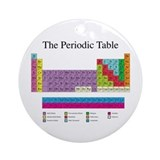 Periodic Table Ornament (Round)
