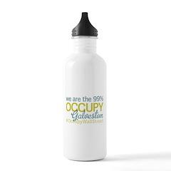 Occupy Galveston Water Bottle