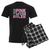 I wear pink for Rylee pajamas
