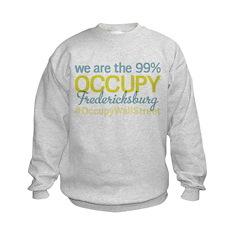 Occupy Fredericksburg Kids Sweatshirt