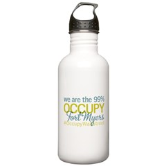 Occupy Fort Myers Water Bottle