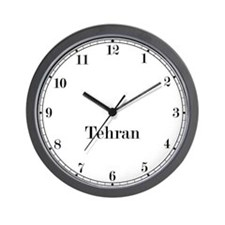 Tehran Classic Newsroom Wall Clock