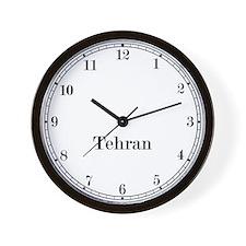 Tehran Classic Newsroom Wall Clock