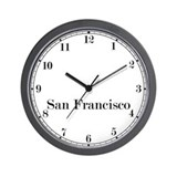 San Francisco Classic Newsroom Wall Clock