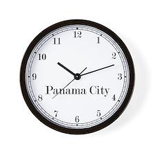 Panama City Classic Newsroom Wall Clock