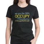 Occupy Flensburg Women's Dark T-Shirt
