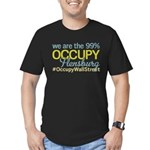 Occupy Flensburg Men's Fitted T-Shirt (dark)