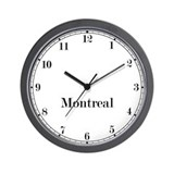 Montreal Classic Newsroom Wall Clock