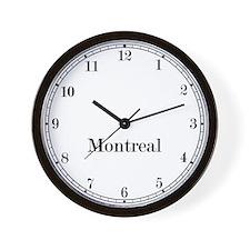Montreal Classic Newsroom Wall Clock