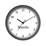 Manila Classic Newsroom Wall Clock