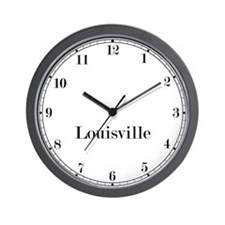 Louisville Classic Newsroom Wall Clock