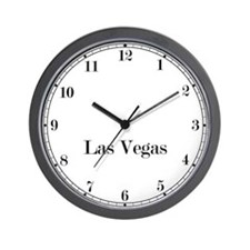 Las Vegas Classic Newsroom Wall Clock