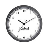 Kabul Classic Newsroom Wall Clock