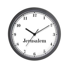 Jerusalem Classic Newsroom Wall Clock