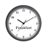 Frankfurt Classic Newsroom Wall Clock