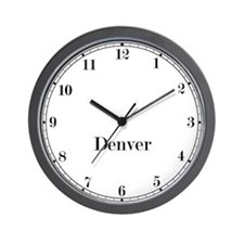 Denver Classic Newsroom Wall Clock